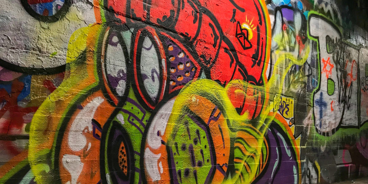 Student Spreads Mental Health Awareness Through Graffiti