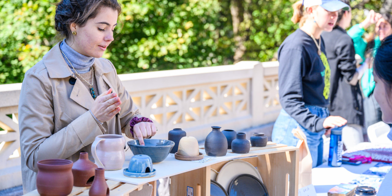 Emory Kicks Off First Artisan Market