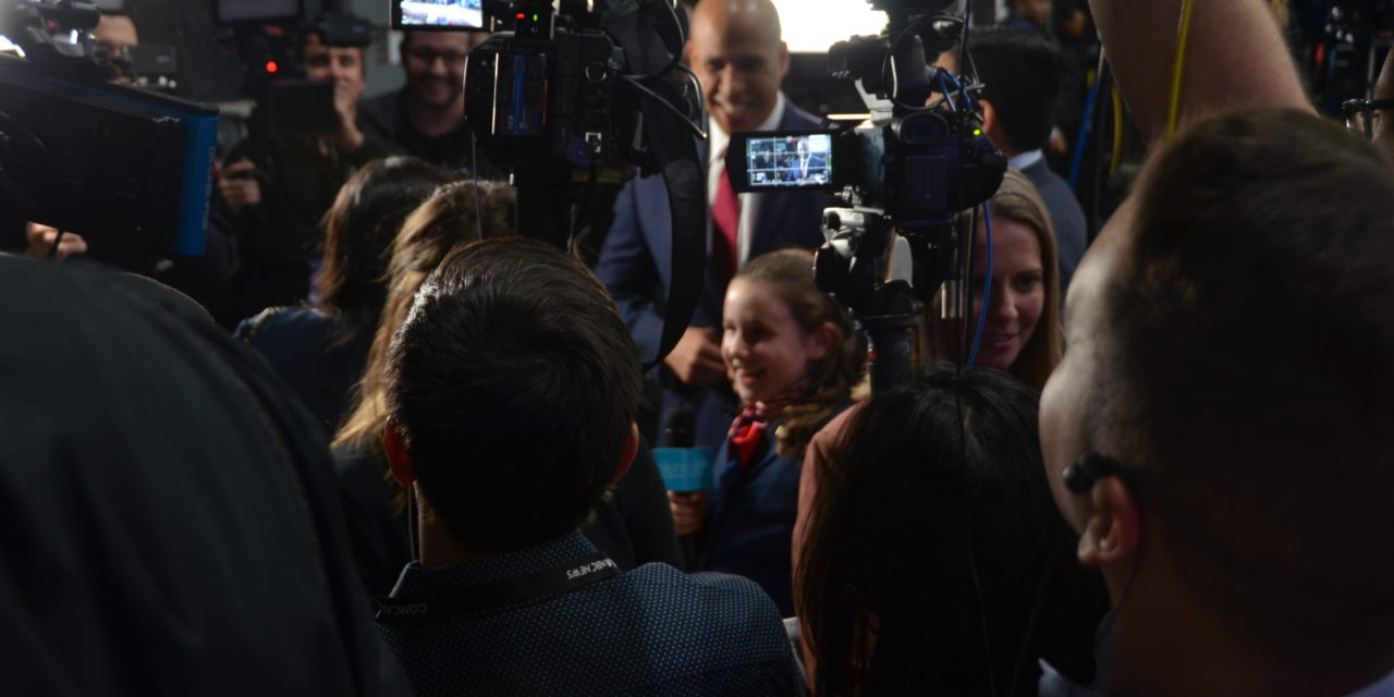 Behind the Scenes: Students Participate at the Democratic Debate