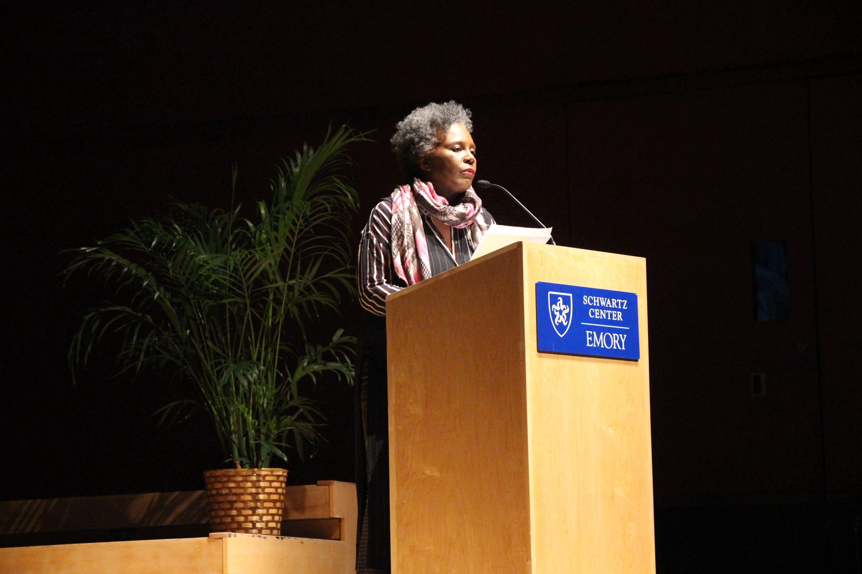 Ellmann Lectures Host Claudia Rankine