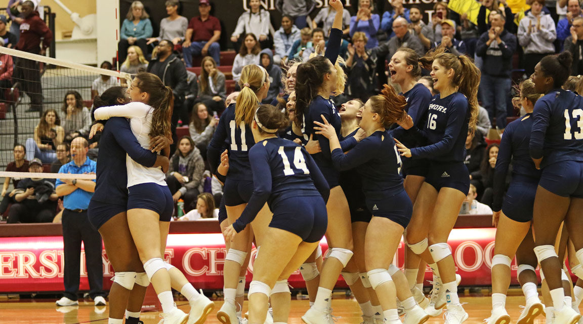 Emory Volleyball Nets Second Consecutive UAA Title