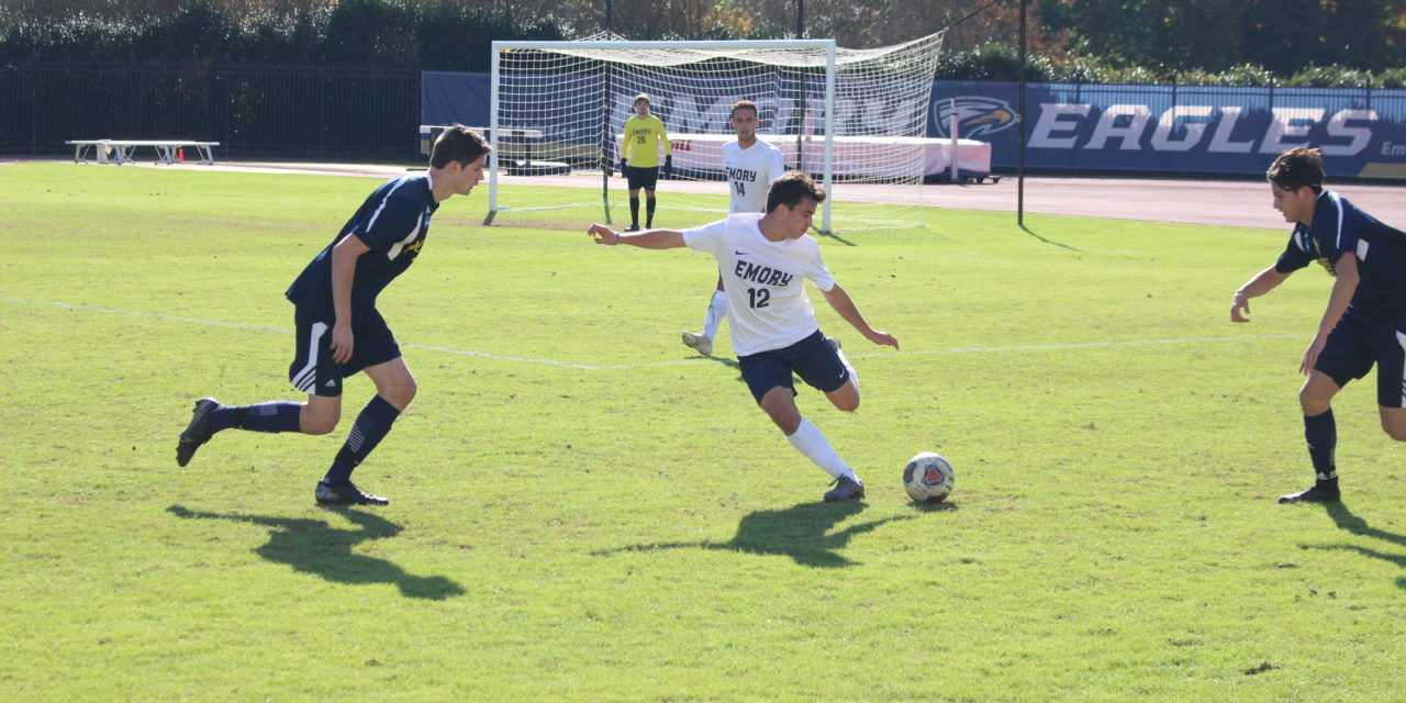 Eagles Play to Draw on Senior Day