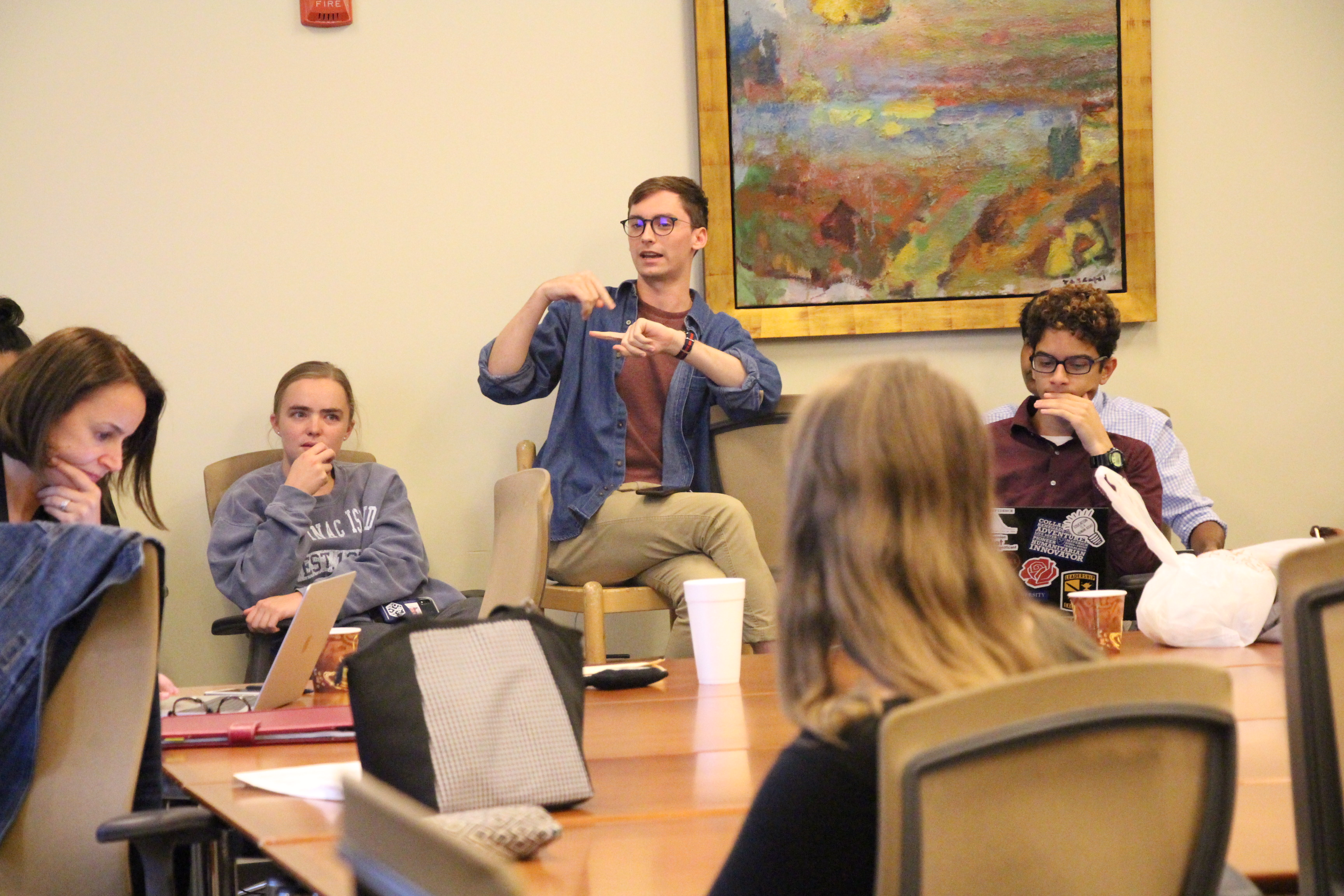 SGA and GSGA Hold Joint Meeting