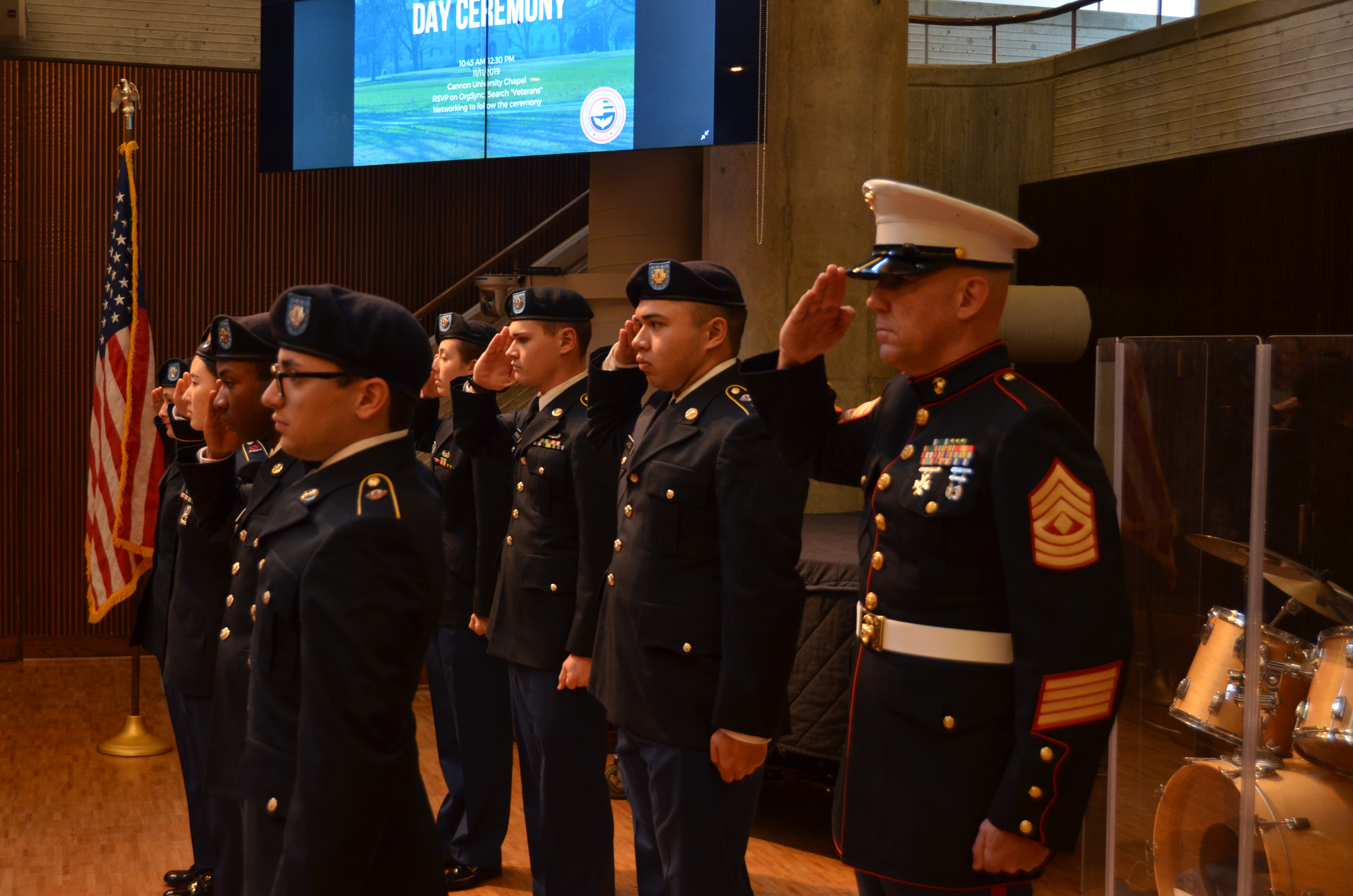 Emory Hosts 11th Annual Veterans Day Ceremony