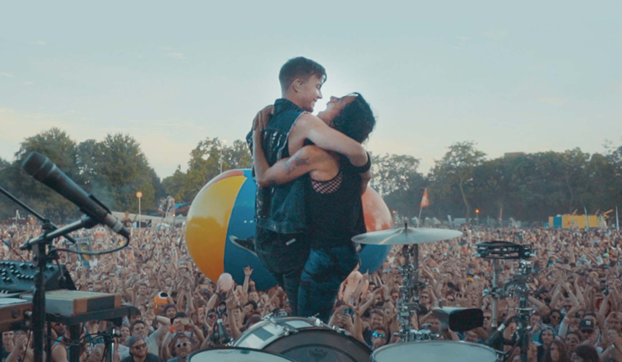 Matt and Kim Engage With Energy and Enthusiasm