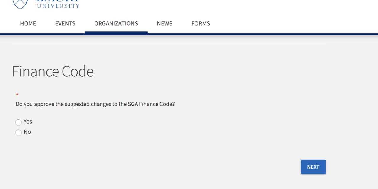 SAF Ballot Blunder Spotlights SGA's Miscommunication