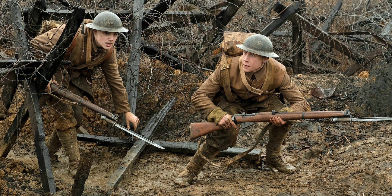 '1917' is a One-Shot Wonder