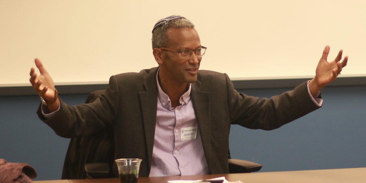Rabbi Discusses His Ethiopian Refugee Status, Integration Into Israel