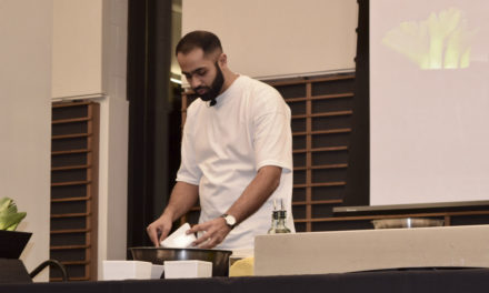 Chef, Dentist Fuses Indian & American Cuisine