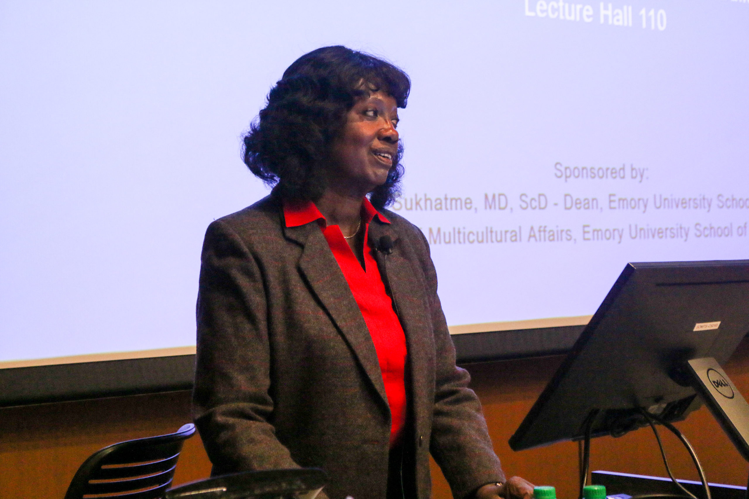 Holmes Lecture Hosts First African American Female Medical School Graduate