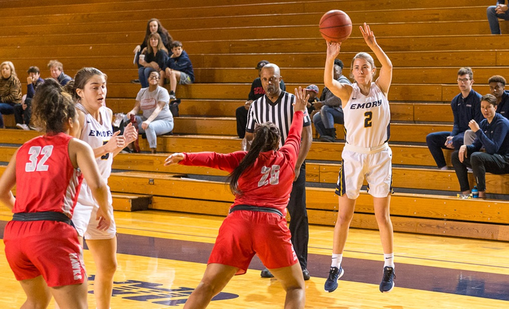 Sixth Women Key to Emory Basketball's Success
