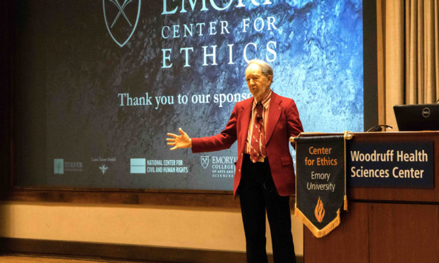 Geographer Jared Diamond Emphasizes Need To Solve Worldwide Crises