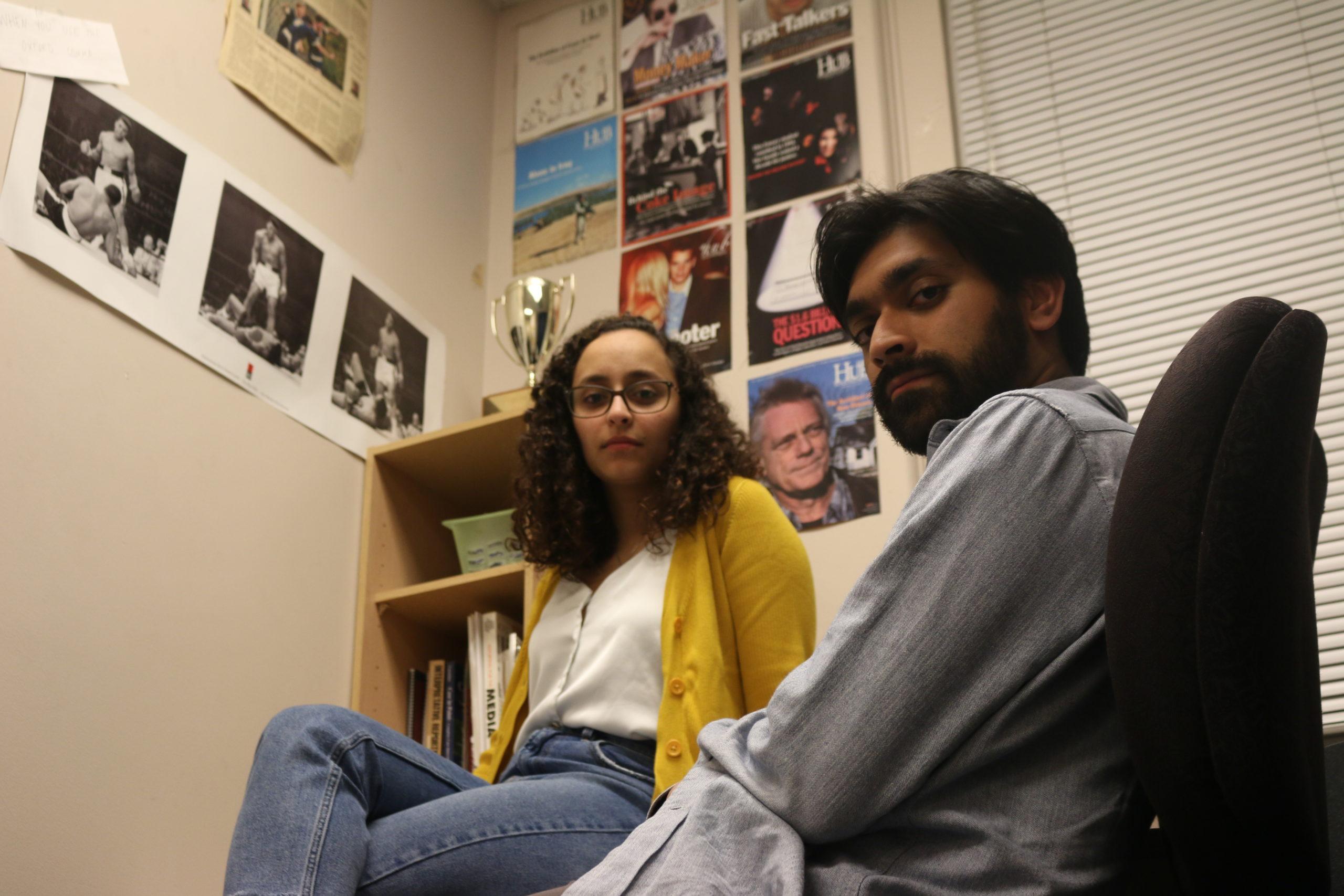 Naik and Sadek Reflect on 4-Year Trek