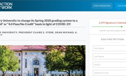 Student Petition Calls For 'Double-A' or '4.0 Pass-No Credit' Grading