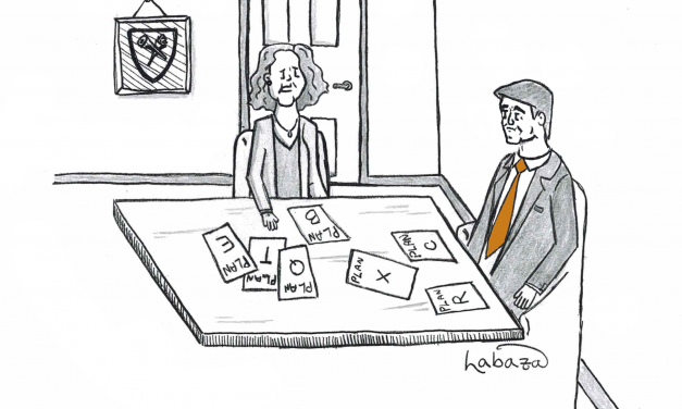 Cartoon: Emory's Decision Makers