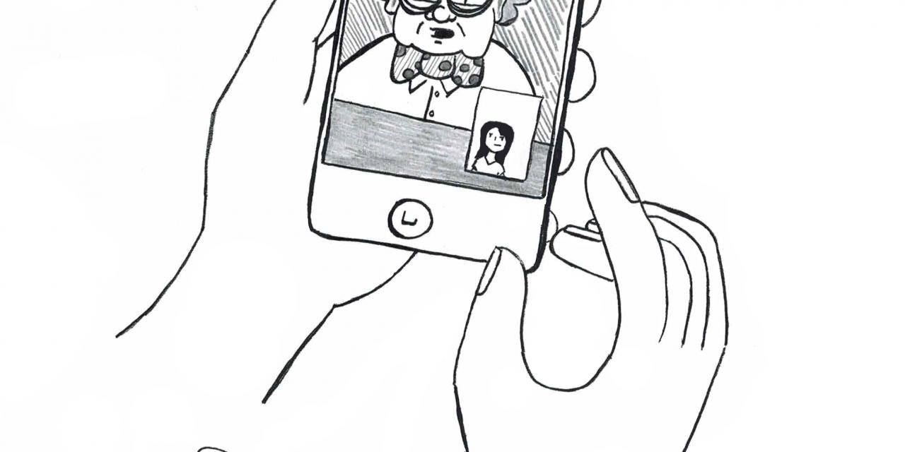 Cartoon: No Phones Allowed