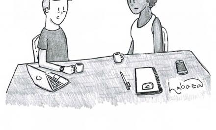 Cartoon: Internet-Induced Exhaustion