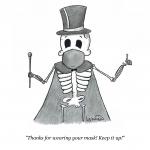 Cartoon: Masks Up