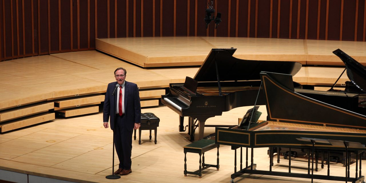From Keyboard Artistry to Antisemitism: Bach Livestream Inspires