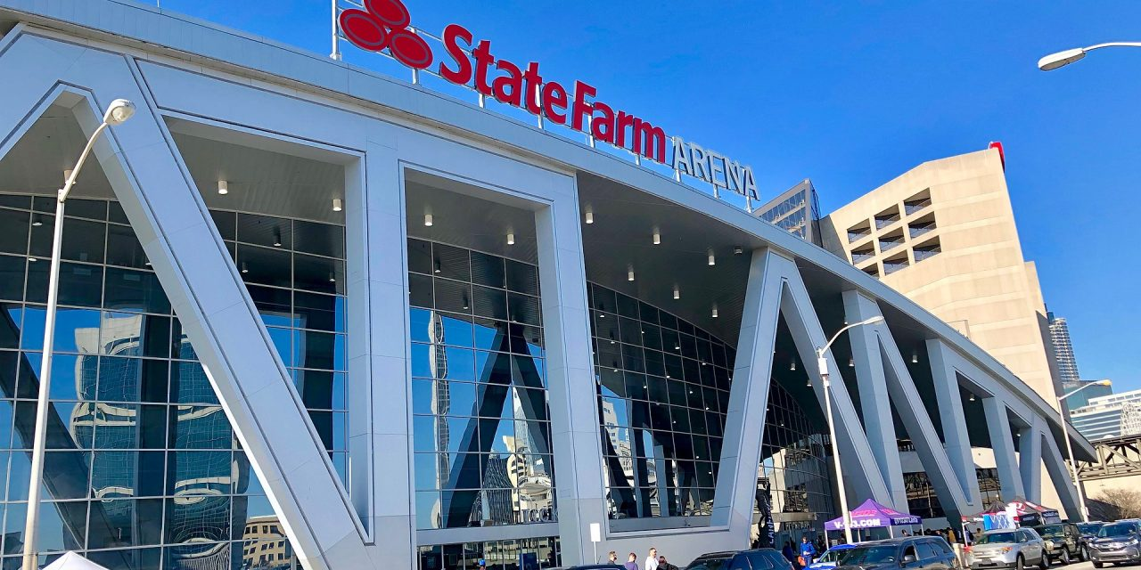 In Election's Homestretch, Stadiums Transform Into Voting Sites