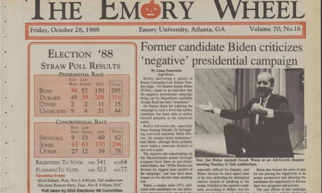 From the Archives: Former Candidate Biden Criticizes 'Negative' Presidential Campaign