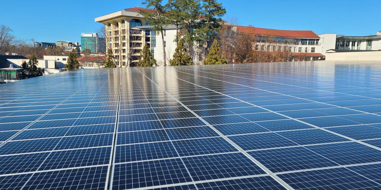 Emory Installs 6,530 Solar Panels Across Campus