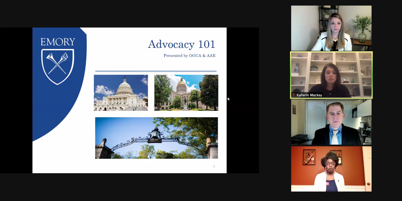 King Week Advocacy Webinar Talks State Lobbying