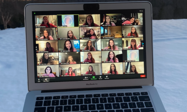 Virtual Sorority Recruitment Ushers in New Class of Members