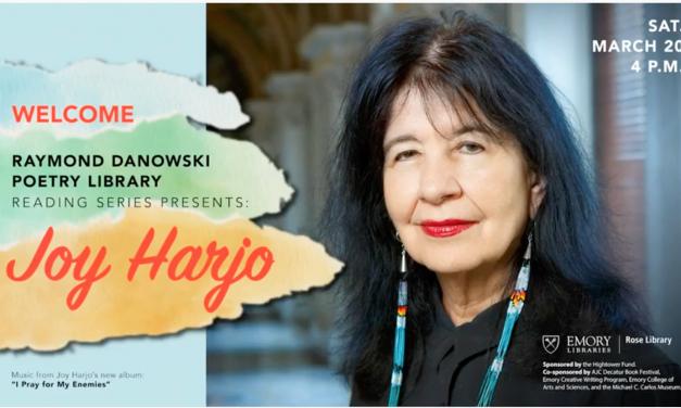 U.S. Poet Laureate Joy Harjo Brings Joy to Emory