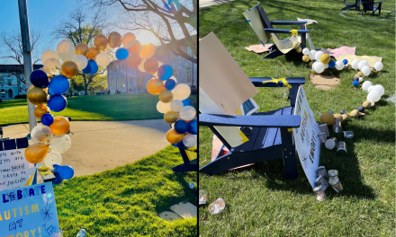 Autism Awareness Display Vandalized on Emory Quad