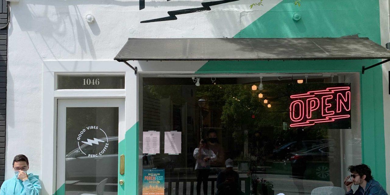 Virginia Highland neighborhood gets PERC-ier   Cailen Drinks Coffee