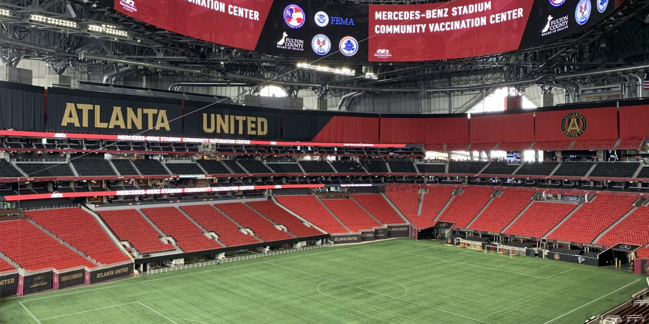 Rediscovering Community: Getting Vaccinated at Mercedes-Benz Stadium