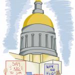 Professors Say Georgia Voting Law Targets Democratic Voters