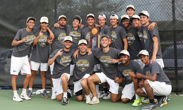 Women's and Men's Tennis Teams Bring Home NCAA Division III Tennis Championship Trophies