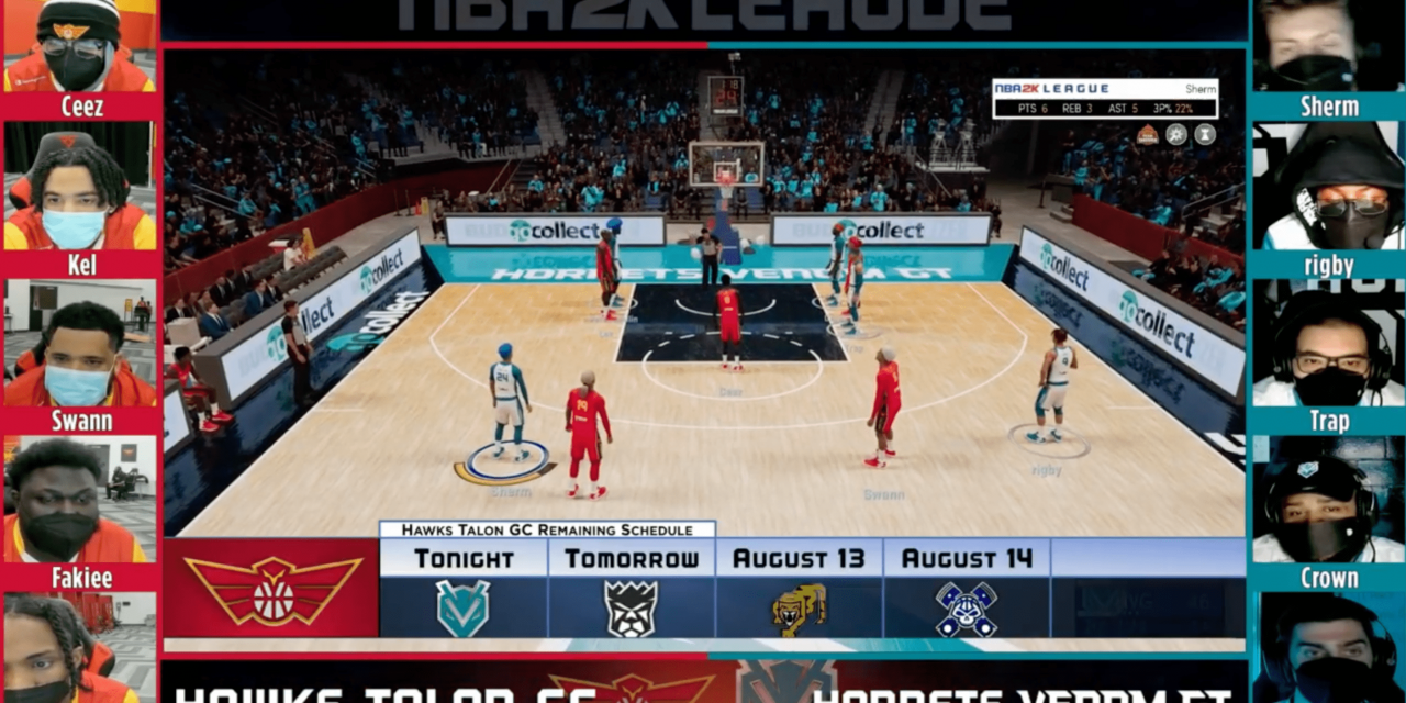 The Hawks' NBA 2K team saw growth during the pandemic
