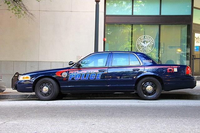 Atlanta Police Cruiser