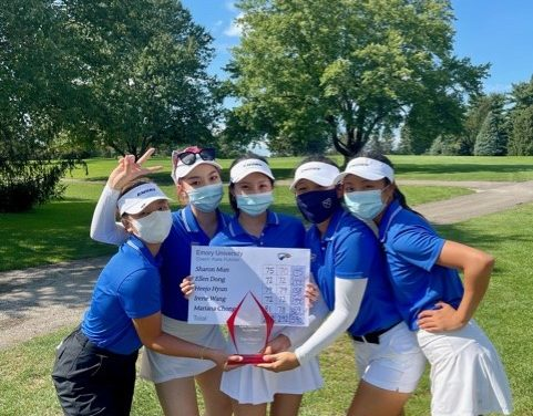 Women's golf makes program history with championship win at Schweizer Invitational