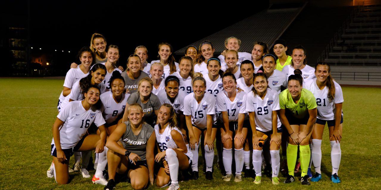 Goals for Girls: Emory women's soccer supports Reclaim Childhood